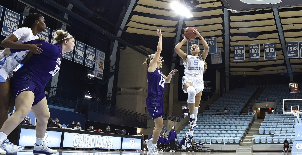 Veteran leadership helps UNC women rally from early 21-point deficit to beat High Point