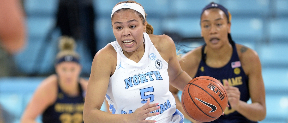 Stephanie Watts just misses triple-double, scores 25 in UNC's huge victory over Notre Dame