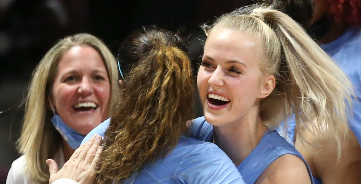 Deja Kelly scores 22 as UNC avenges losses to Hokies, all but clinches NCAA berth