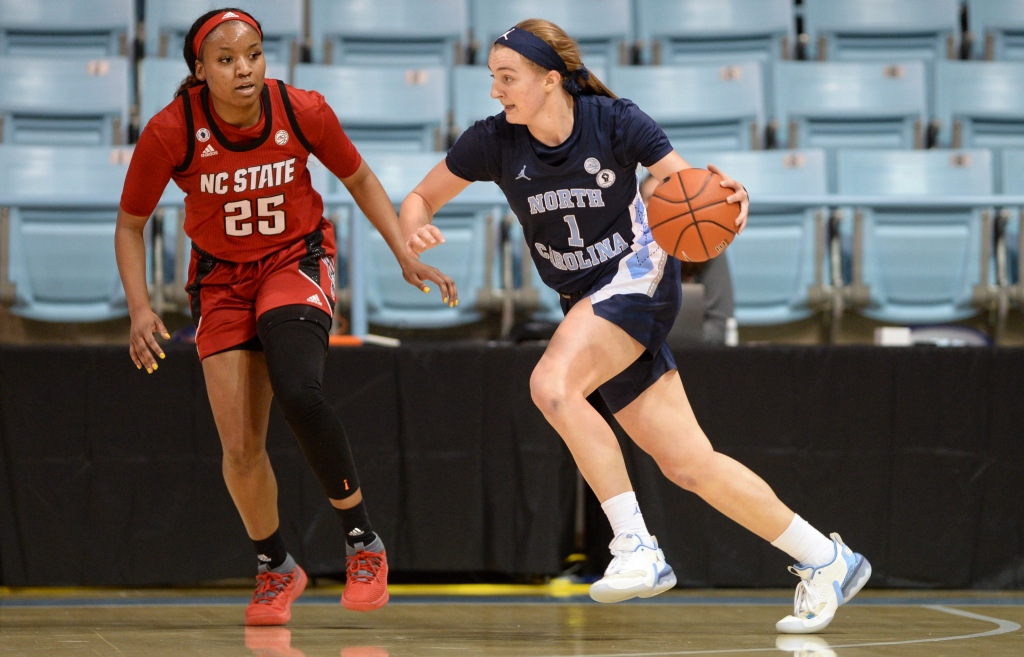 Alyssa Ustby had the best game of her UNC career.