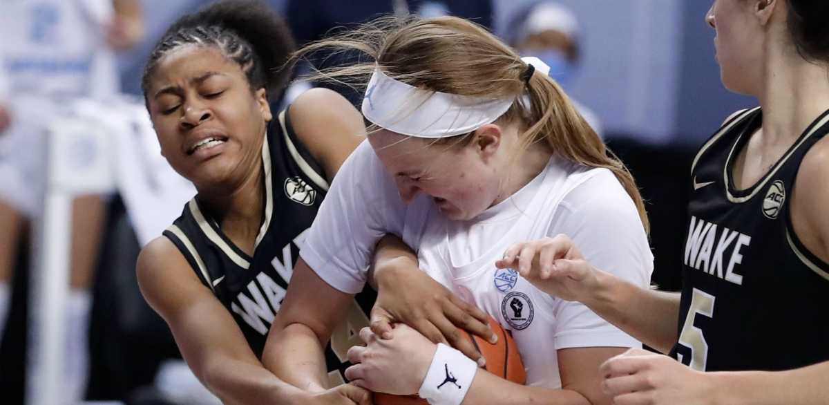 Hot-shooting Deacons knock NCAA-bound UNC out of ACC tournament